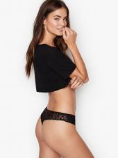 Juodos, seksualios kelnaitės iš Victoria's Secret ...