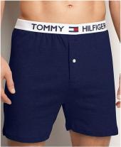 Tamsiai mėlynos Tommy Hilfiger vyriškos trumpikės...
