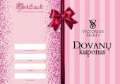 Victoria's Secret dovanų maišeliai, dovanų kuponai