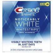 Dantų balinimo juostelės Crest